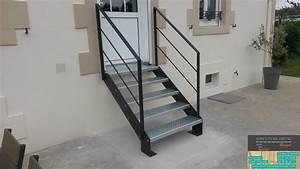 Escalier En Colimaçon Pas Cher : escalier m tallique exterieur ~ Premium-room.com Idées de Décoration