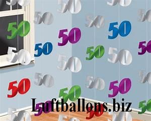 Deko Zum 60 Geburtstag : geburtstag dekoration zahlendeko ketten 50 geburtstag ~ Yasmunasinghe.com Haus und Dekorationen