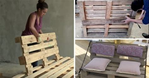 construire un canape avec des palettes 8 tutos vidéos pour fabriquer un canapé en palette