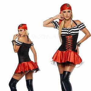 Deguisement Pas Cher Halloween : costumes pirates halloween cosplay sexy d guisement satin pas cher femme m1308234735 ~ Melissatoandfro.com Idées de Décoration
