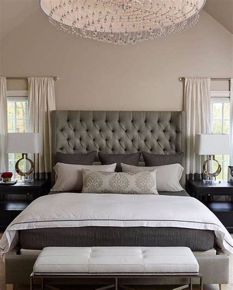 sublime tufted headboards  master bedroom decor
