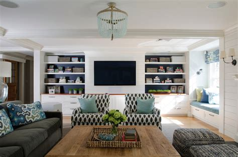 Built In Media Cabinets-contemporary-living Room