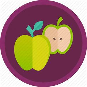 Apple, diet, dietary, fitness, food, fruit, healthy icon ...
