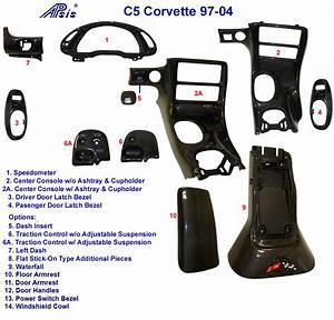C5 Black Carbon Parts  U2013 Armrest   Apsisusa