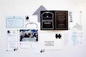 roaring 20s themed wedding invitations invitation crush With wedding invitations 1920 s theme