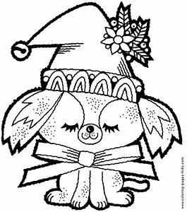 Dog Coloring Pages To Print Out Free Online Christmas ...
