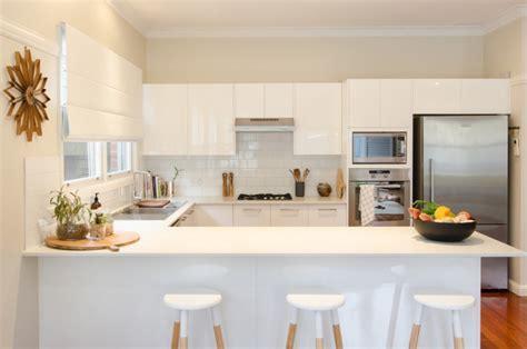 18+ Small U Shaped Kitchen Designs, Ideas  Design Trends