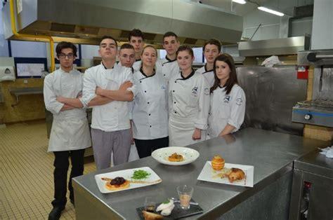 bac pro cuisine adulte porto et produits normands dans l académie de caen