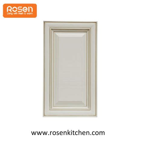 china customized white shaker replacing beaded solid wood