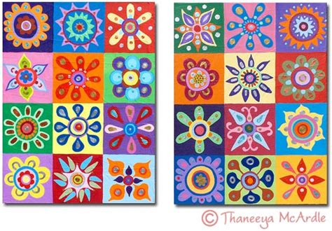 Abstract Flower Shapes by Abstract Flower Painting Lesson How To Paint Abstract