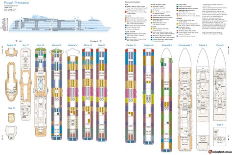 regal princess deck plans princess cruises rachael edwards