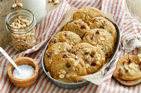 salty peanut chocolate chip cookies recipe nyt cooking