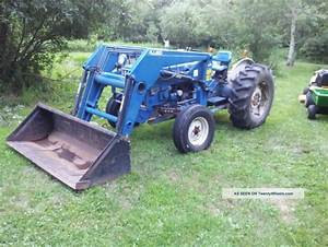 Ford 4600 Su Tractor With Loader