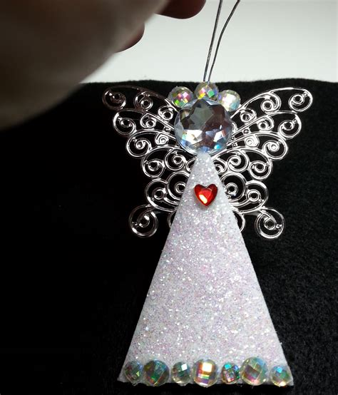 diy easy and gorgeous personalized angel ornaments i m