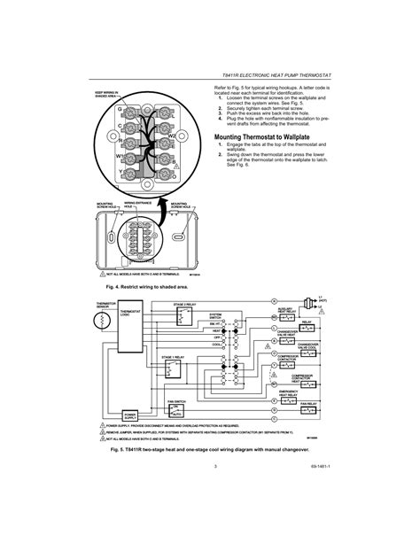 Thd Honeywell Thermostat Wiring Diagram For Heat Pump