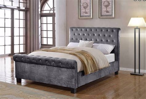 King Size Ottoman Bed by Flair Lola 5ft Kingsize Ottoman Bed Grey