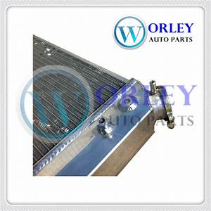 Aluminum Radiator  U0026 Fans For Chevy S10 1984