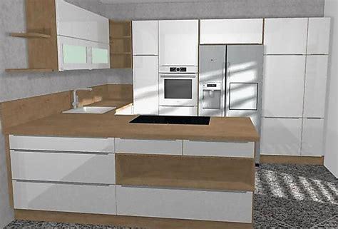 Nobilia-musterküche Hochglanz U Küche Mit Bosch Geräten
