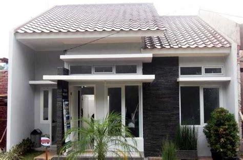 desain rumah minimalis tampak depan  lantai modern