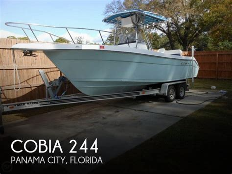Used Boats For Sale In Panama City Florida by For Sale Used 2000 Cobia 244 In Panama City Florida