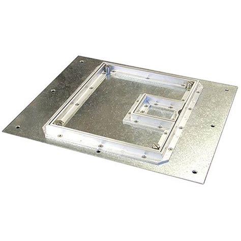 fsr floor boxes fl 500p fsr fl 500p s c cover with beveled 189 quot aluminum carpet