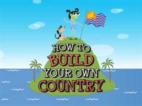 How To Build Your Own Country Youtube
