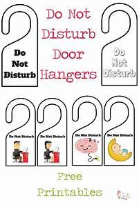 hanger free printable halloween door hangers free With do not disturb door hanger template free