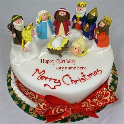 merry christmas santa claus xmas birthday cakes   edit
