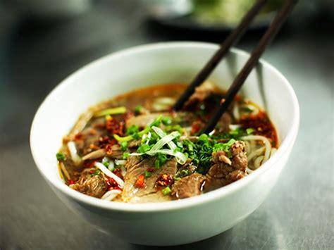 cuisine vietnamienne phô au boeuf