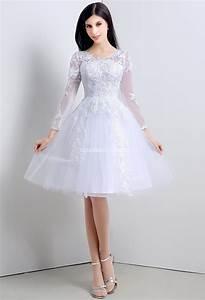 Robe Mariee Courte : robe de mari e courte dentelle vaporeuse ~ Melissatoandfro.com Idées de Décoration