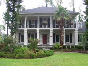 Southern Plantation Style Home Plans