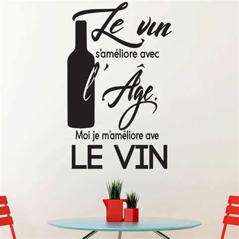 dicton cuisine sticker citation cuisine le vin s 39 améliore avec l 39 âge