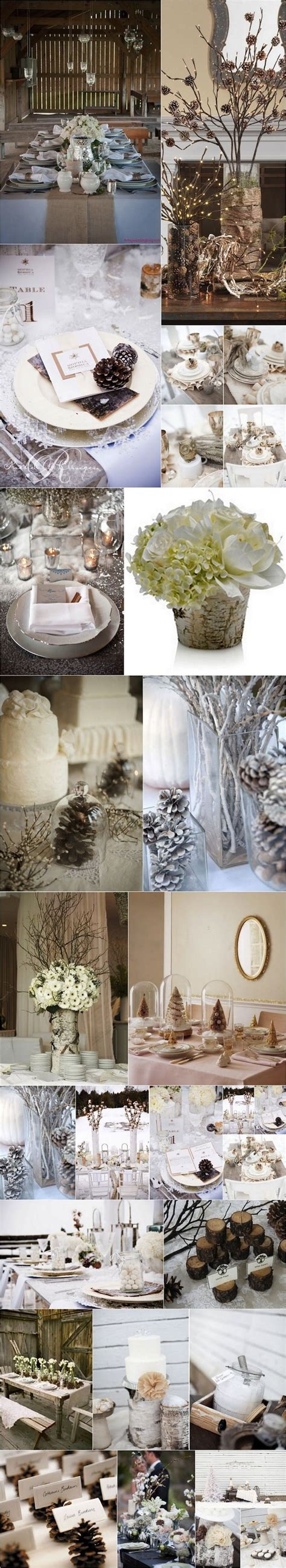 mariage dhiver nature  mariage theme hiver mariage en
