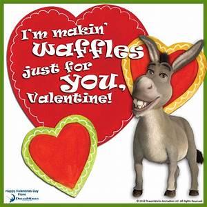 I'm Making Waffles Just For You, Valentine! - Donkey ...
