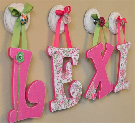 Wall Decor Letters For Nursery  Homes Decoration Tips