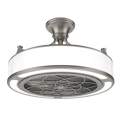 home depot outdoor fans anderson 22 in indoor outdoor brushed nickel ceiling fan
