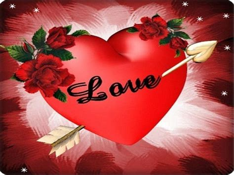 Background Heart Red Roses
