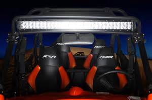 polaris rzr led light bar mount car interior design
