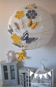 Chambre Bebe Jaune : deco chambre garcon gris et jaune ~ Nature-et-papiers.com Idées de Décoration
