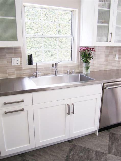 stainless steel kitchen cabinets cost stainless steel countertops cost diy stainless steel 8249