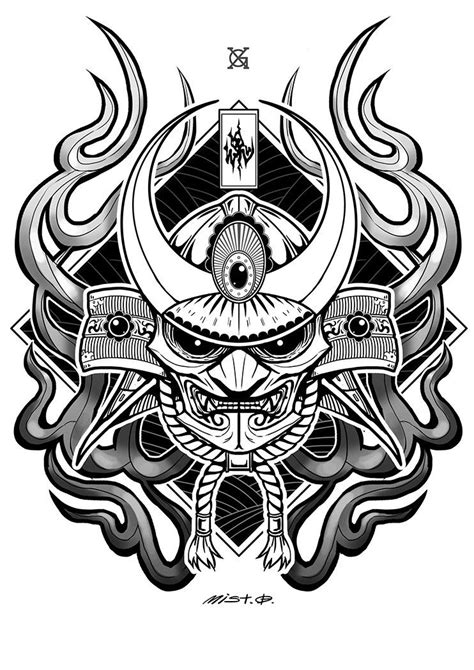 Pin by Marcus Meler on Tattoos in 2019 | Samurai tattoo, Graffiti art, Art