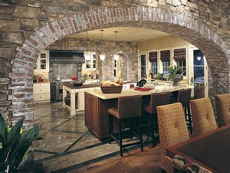 create a rustic kitchen design with the help of veneers