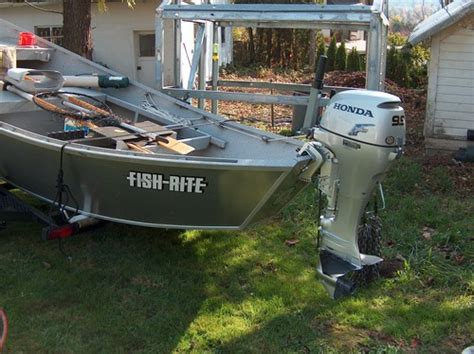 Drift Boat With Motor For Sale price reduced fish rite drift boat with brand new motor