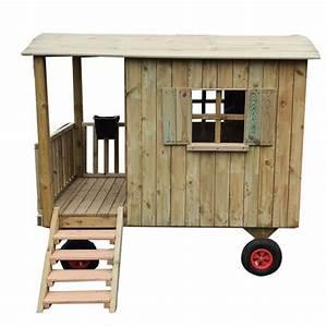 Gartenhaus Holz Kinder : zirkuswagen aus holz f r kinder spielhaus kinderspielhaus ~ Watch28wear.com Haus und Dekorationen