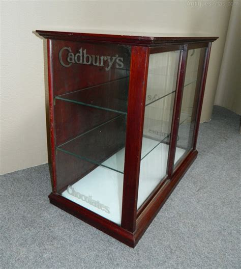 antique shop display cabinets for cadbury s chocolates shop display cabinet antiques atlas 9032