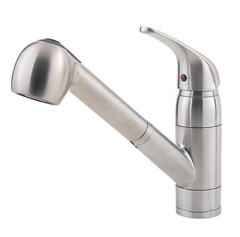 stainless steel pfirst series 1 handle pull out kitchen