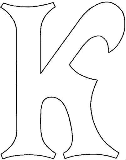 letras bonitas individuales imagui letras k quilling letters letter stencils e fancy letters