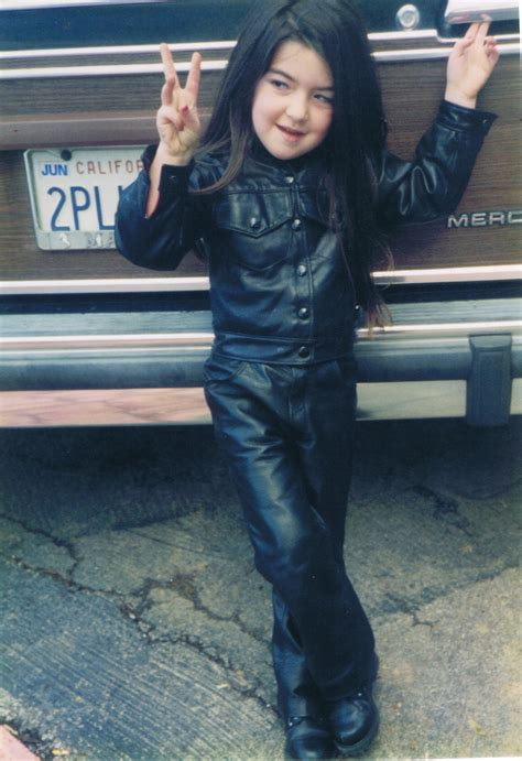 leather jean jacket  leather jeans  children