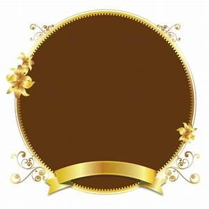 Gold design vector golden frame background illustration ...