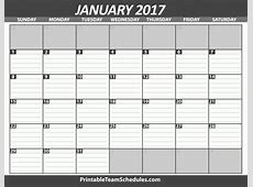Monthly Calendar With Lines Calendar 2018 Printable